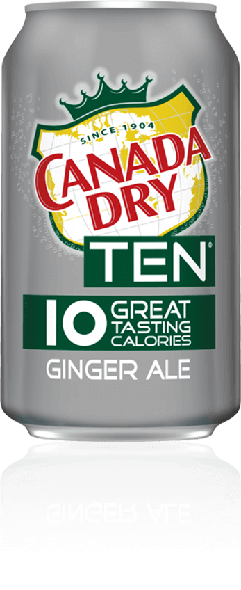 Canada Dry TEN Ginger Ale