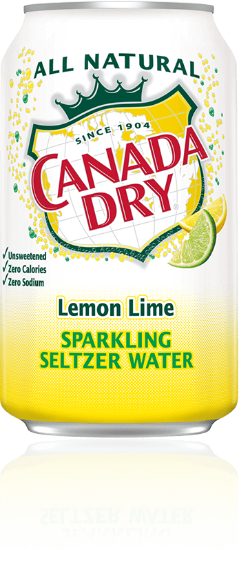 Canada Dry Lemon Lime Sparkling Seltzer Water