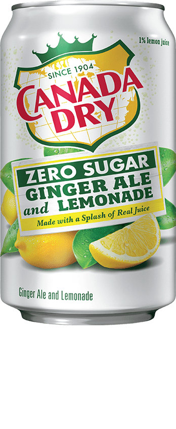 Canada Dry Ginger Ale and Lemonade Zero Sugar
