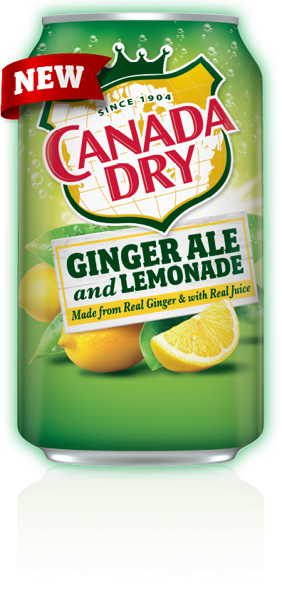 Canada Dry Ginger Ale and Lemonade